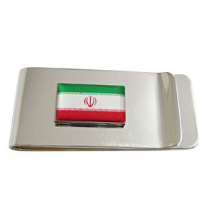 Iran Flag Money Clip